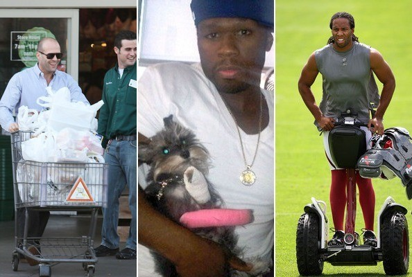 Manly Celebs Caught Being Unmanly