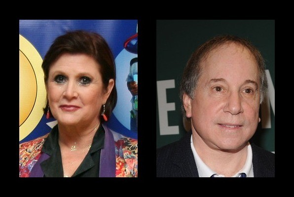 Carrie Fisher was married to Paul Simon