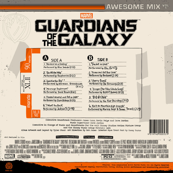 Madison : Guardians of the galaxy 2 soundtrack playlist