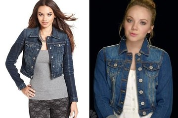 A Cropped Denim Jacket Like Danielle Bradbery's on 'The Voice'