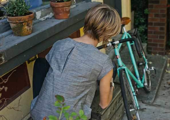 Bike-friendly clothing for women | Lonny.com