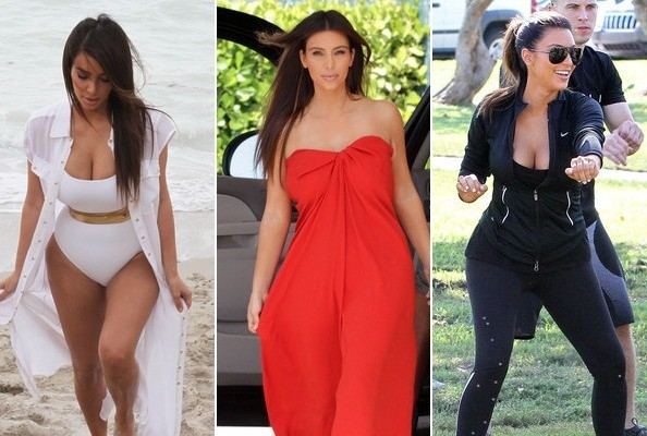 Kim Kardashian's Hottest Moments from Miami - Zimbio
