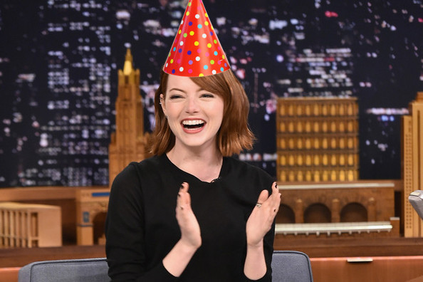 A GIF Guide to Emma Stone's Likely Birthday Celebration