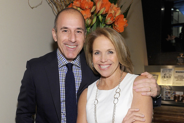 'It's incredibly upsetting': Katie Couric responds after confrontation over Matt Lauer story