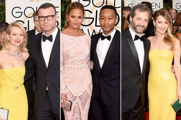 The Hottest Couples at the 2015 Golden Globes