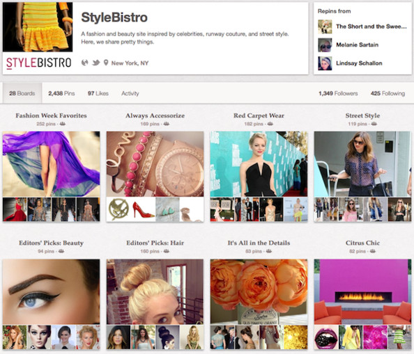 Pinterest Launches Open Registration! Follow Us on Pinterest!