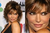 Lisa Rinna - Strong and Subtle - Smoky Eyes and Nude Lips
