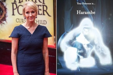 J.K. Rowling to Internet: 'Harambe Is Not a Patronus'