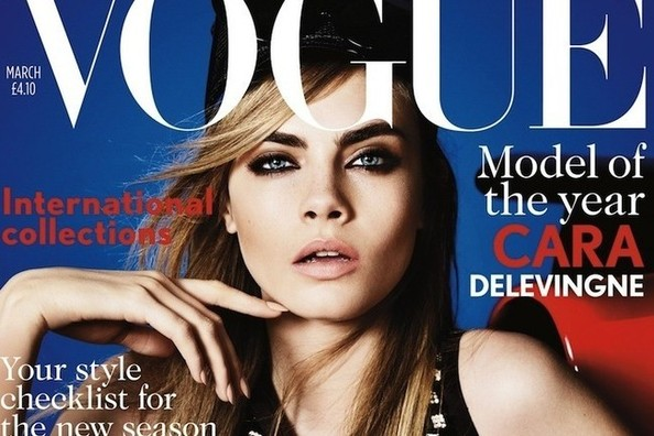 Harry Styles' Ex Cara Delevingne Lands 'Vogue' Cover — See 6 of Her Hottest Looks!