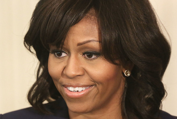 Michelle Obama Talks Bangs, Nordstrom Bridal's Same-Sex Couples Ad, and More!