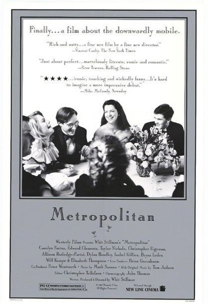 a comparison of mansfield park and metropolitan by whit stillman