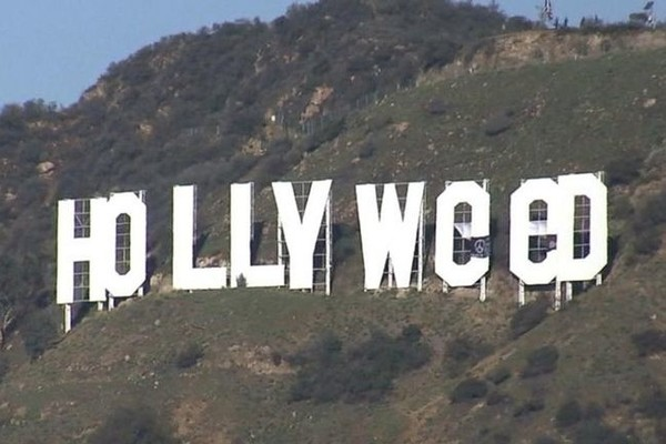 Someone Changed the Hollywood Sign to 'Hollyweed'