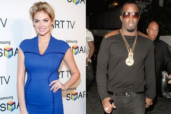 Kate Upton and Diddy Are Possibly Dating, Definitely 'Sucking Face' [UPDATED]