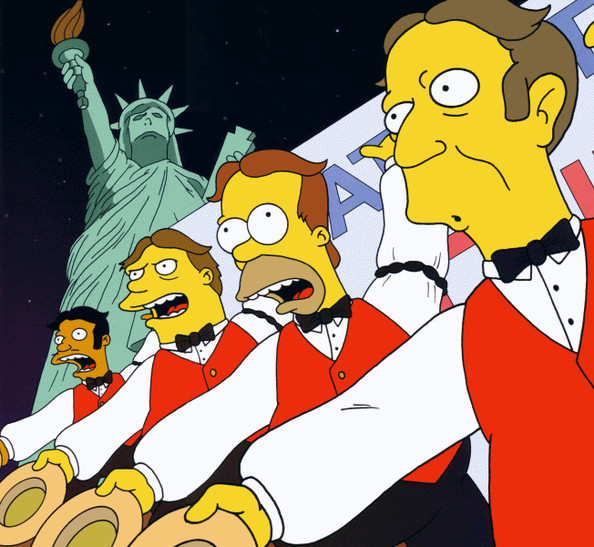 The Be Sharps, 'The Simpsons'