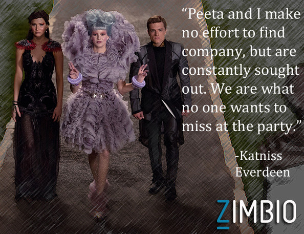 Katniss And Peeta Catching Fire Quotes  Catching Fire  Quotes