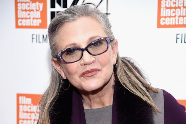 Carrie Fisher Hospitalized After Heart Attack On L.A.-Bound Plane