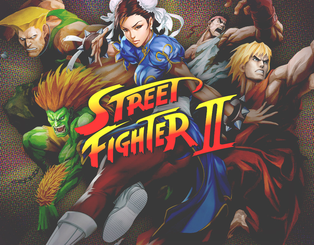 Street Fighter 2 Characters