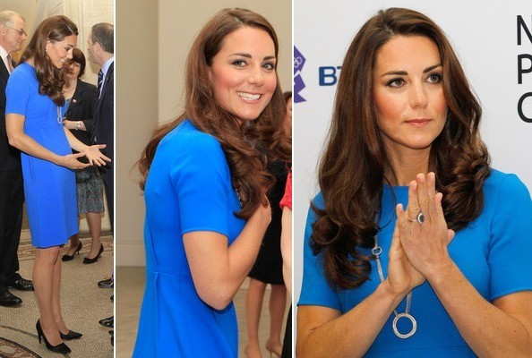 Kate Middleton Wears Stella McCartney and Prada