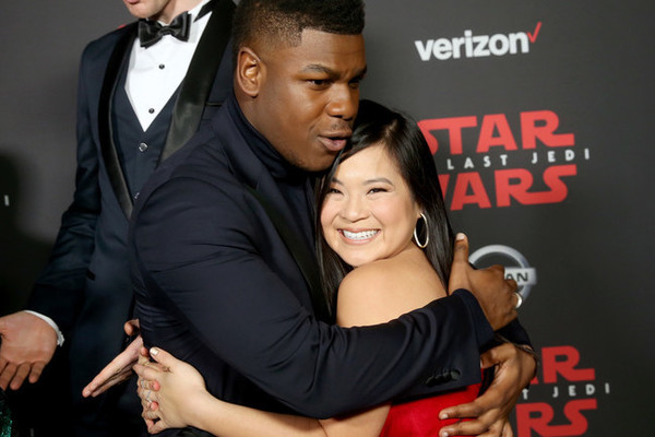 Kelly Marie Tran Was a Radiant Sunfish at the'Star Wars Premiere