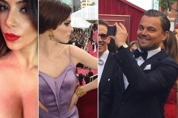 The Best Oscar Instagram Pics