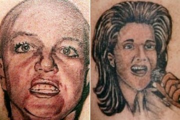Terrible Tattoos of Celebrities