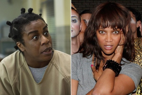 18 Photos That Prove Tyra Banks Is the Real 'Crazy Eyes'