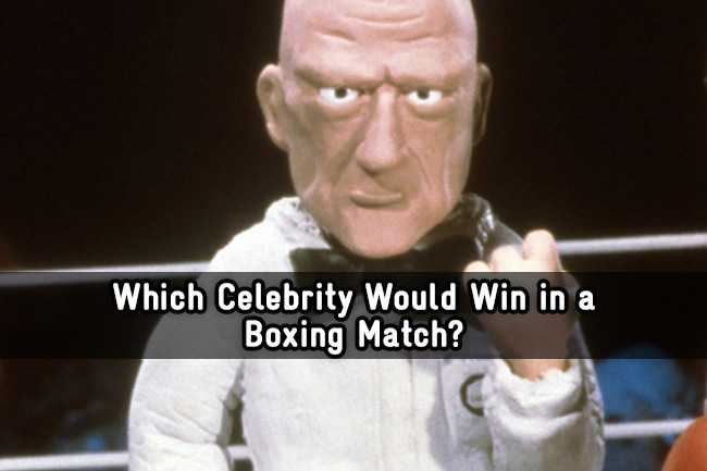 Celebrity boxing match 2019