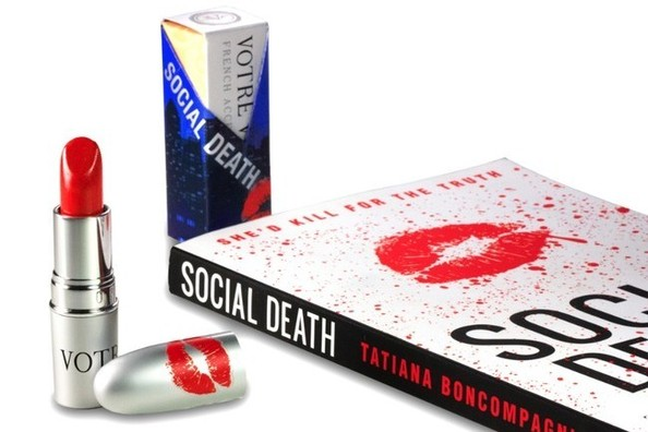 Books and Beauty: Votre Vu Releases A 'Social Death' Lipstick