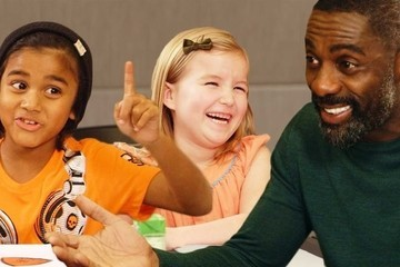 Idris Elba Receives the Best Dating Advice from Adorable Kids
