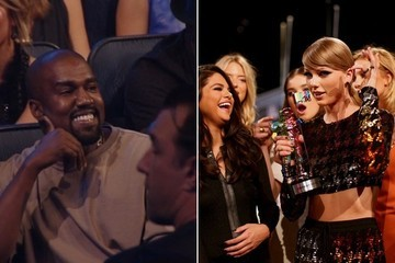 Kanye West Stays Quiet as T. Swift Wins 'Best Female Video' at VMAs
