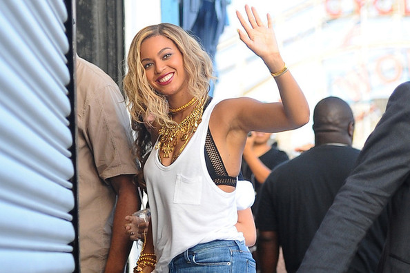 Found: Beyonce's Neat Netted Bralette