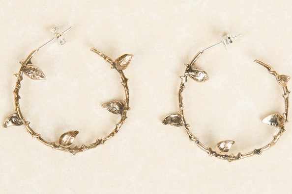 StyleBistro STUFF: Pamela Love's Not-So-Basic Bronze Hoops
