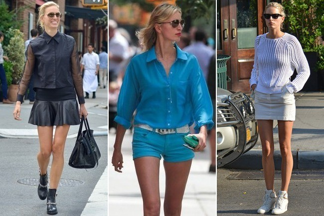 How to Master Monochrome Like Karolina Kurkova