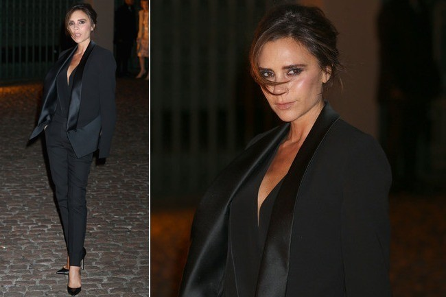 Victoria Beckham Can Rock a Suit Like No Other