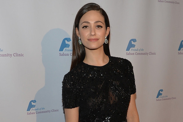 Emmy Rossum's Sequined Pants Make Us Rethink Evening Glamour
