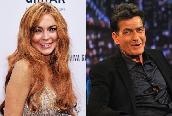 Lindsay Lohan Is Playing Charlie Sheen's Love Interest