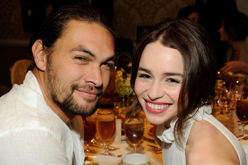 Emilia Clarke And Jason Momoa Reunite Post-'Game Of Thrones' For Momoa's 40th Birthday