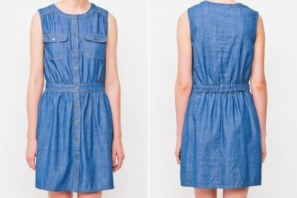 StyleBistro STUFF: Article&'s Weekend-Getaway-Ready (Under $50!) Chambray Dress