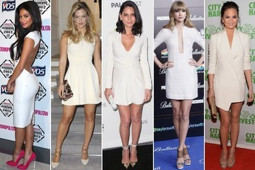 The New Classic: 50 Little White Dresses