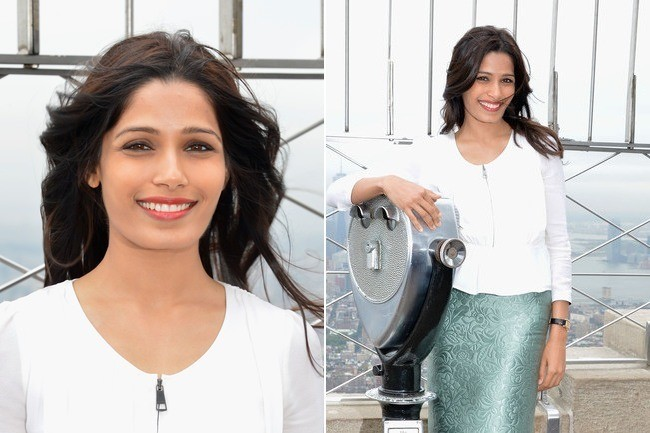 Empire State of Freida Pinto