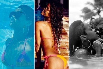 Rihanna's Bikini Selfies from the Dominican Republic