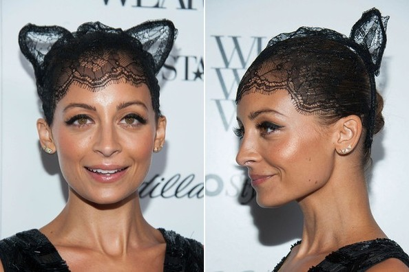 Nicole Richie is a Stylish Catwoman