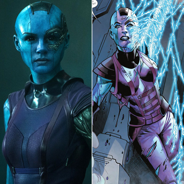 Nebula - 'Guardians of the Galaxy' Comic Book Back Stories ...