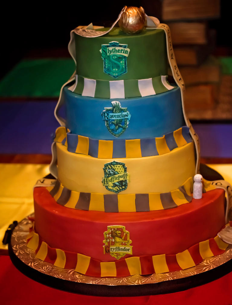 This Insanely Detailed 'Harry Potter' Wedding Might Make You Want to Tie the Knot