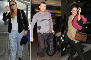 Celebs Keep It Casual at the Airport