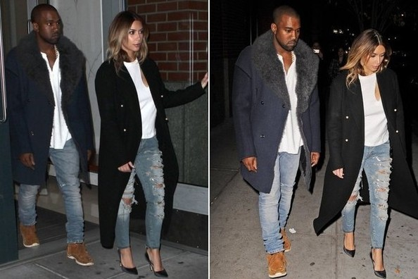 So, Kim Kardashian and Kanye West Are Dressing Alike Now