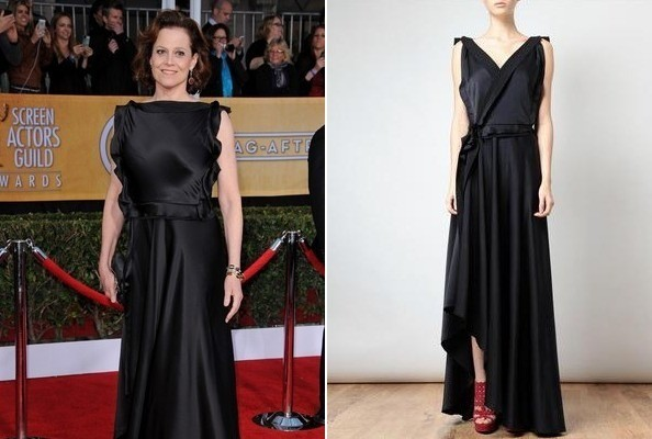 Our New Favorite Menswear Blog, Sigourney Weaver's Backwards Gown, and More!