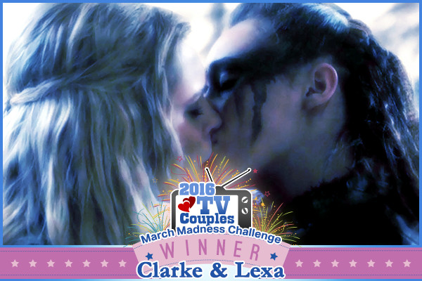 Clarke & Lexa Win Zimbio's 2016 TV Couples March Madness!