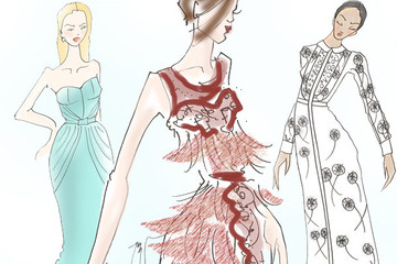 Spring's Most Beautiful Runway Gowns