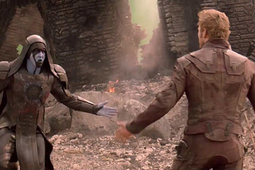Watch Ronan Accept Star-Lord's Dance-Off in 'Guardians of the Galaxy'